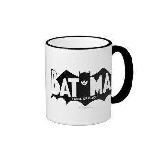 Batman   Force of Good 60s Logo Ringer Mug