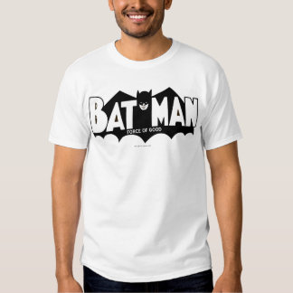 Batman   Force of Good 60s Logo Tee Shirt