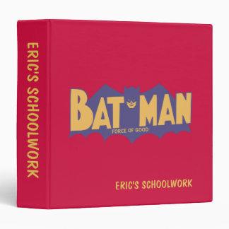 Batman | Force of Good 60s Logo Vinyl Binder
