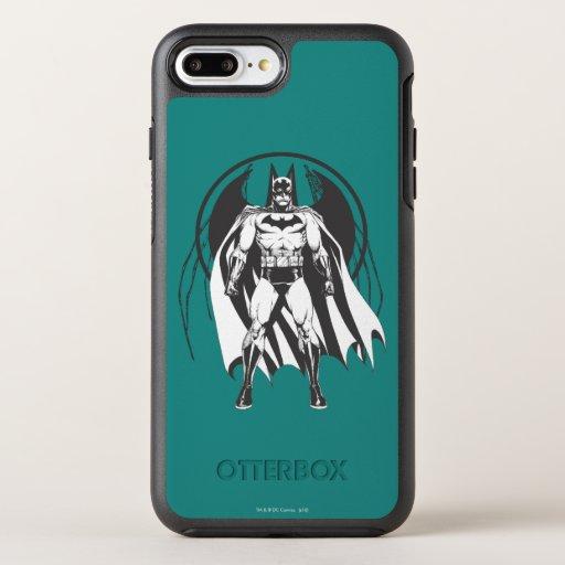Batman from logo OtterBox symmetry iPhone 8 plus/7 plus case