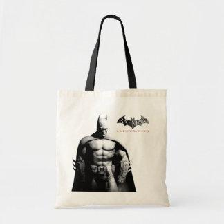 Batman Front View B/W Tote Bag