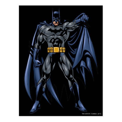 Batman Full-Color Front Post Card