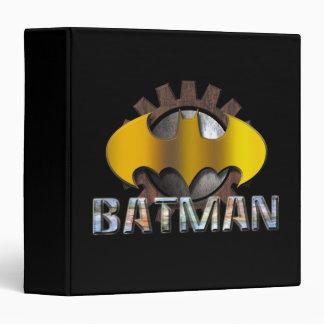 Batman | Gear Background Logo 3 Ring Binder