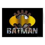 Batman   Gear Background Logo Card