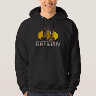 Batman | Gear Background Logo Hoodie