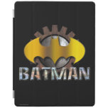 Batman   Gear Background Logo iPad Smart Cover
