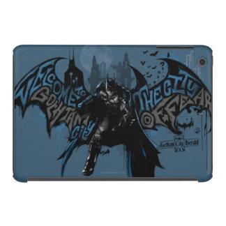 Batman Gotham City Paint Drip Graphic iPad Mini Covers