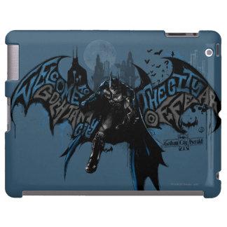 Batman Gotham City Paint Drip Graphic