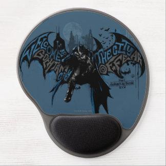 Batman Gotham City Paint Drip Graphic Gel Mouse Pad