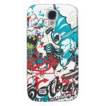 Batman Gotham Guardian Lineart Collage Galaxy S4 Case