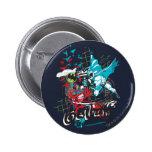 Batman Gotham Guardian Lineart Collage Pins