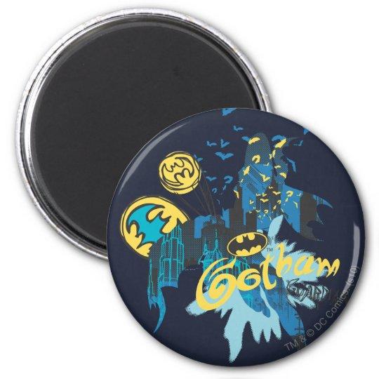 Batman Gotham Guardian Notebook Sketch Magnet