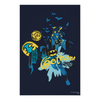 Batman Gotham Guardian Notebook Sketch Posters