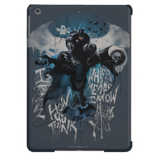 Batman Graffiti Graphic - I Know How You Think iPad Air Covers