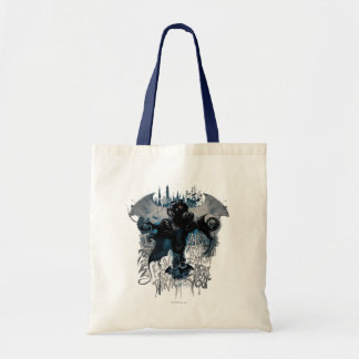 Batman Graffiti Graphic - I Know How You Think Tote Bag