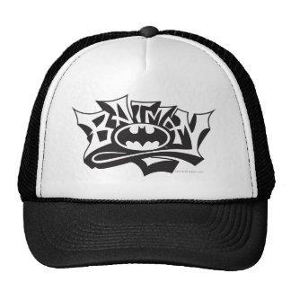 Batman Graffiti Name Mesh Hats