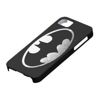 Batman Grainy Logo iPhone 5 Case