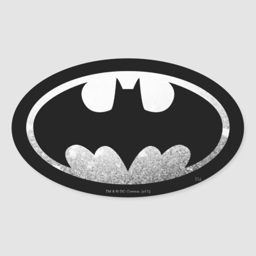 Batman Grainy Logo Sticker