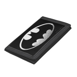 Batman Grainy Logo Tri-fold Wallets