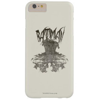Batman Graphic Novel Pencil Sketch 2 Barely There iPhone 6 Plus Case
