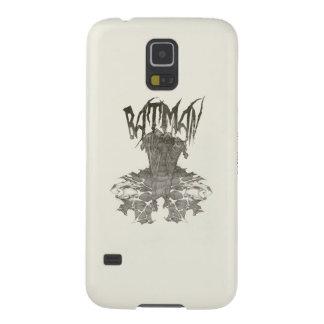 Batman | Graphic Novel Pencil Sketch Beige Logo Galaxy S5 Case