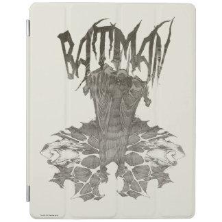 Batman | Graphic Novel Pencil Sketch Beige Logo iPad Smart Cover