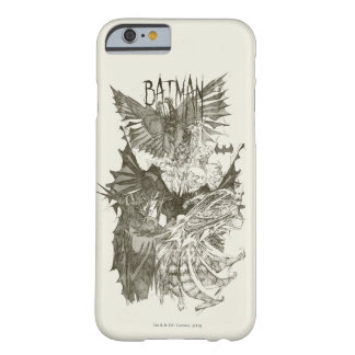 Batman Graphic Novel Pencil Sketch Barely There iPhone 6 Case