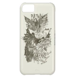 Batman Graphic Novel Pencil Sketch iPhone 5C Cover