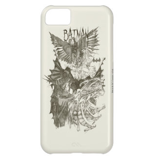 Batman Graphic Novel Pencil Sketch Case For iPhone 5C