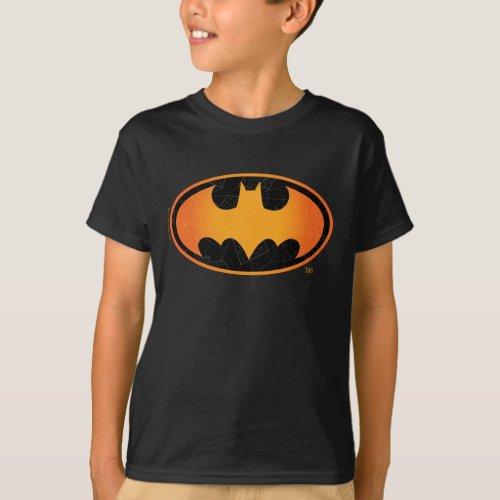 Batman  Halloween Web Logo T_Shirt