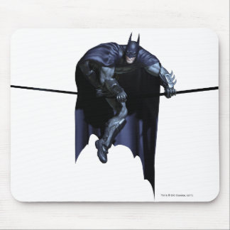 Batman Hanging On Line Mouse Pad