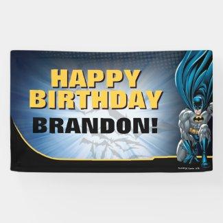Batman | Happy Birthday Banner