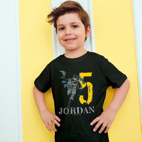 Batman| Happy Birthday Birthday T-Shirt