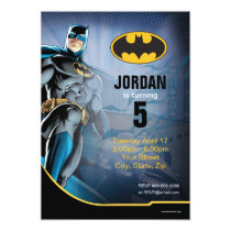 Batman | Happy Birthday Invitation