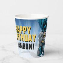 Batman   Happy Birthday  Paper Cups