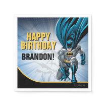 Batman   Happy Birthday Paper Napkins