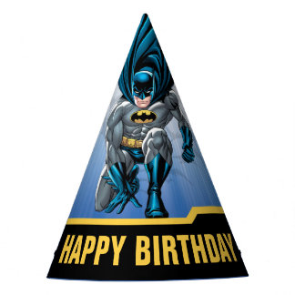 Batman | Happy Birthday Party Hat