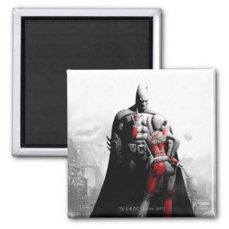Batman & Harley 2 Inch Square Magnet