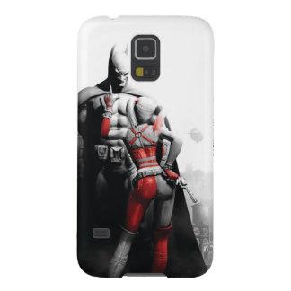 Batman & Harley Galaxy S5 Cover