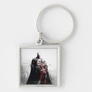 Batman & Harley Keychain