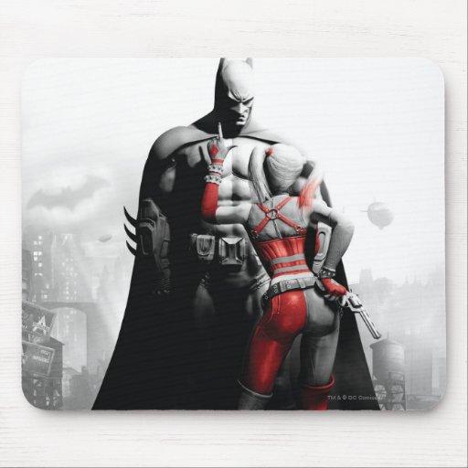 Batman & Harley Mouse Pad