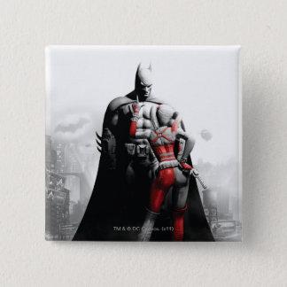 Batman & Harley Pinback Button