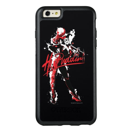 "Batman | Harley Quinn ""Hi Puddin'"" Ink Art OtterBox iPhone 6/6s Plus Case"