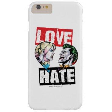 Batman | Harley Quinn & Joker Love/Hate Barely There iPhone 6 Plus Case