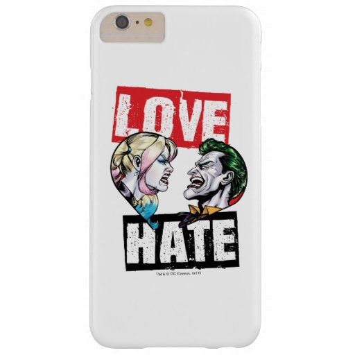 Batman | Harley Quinn & Joker Love/Hate Barely There iPhone 6 Plus Case