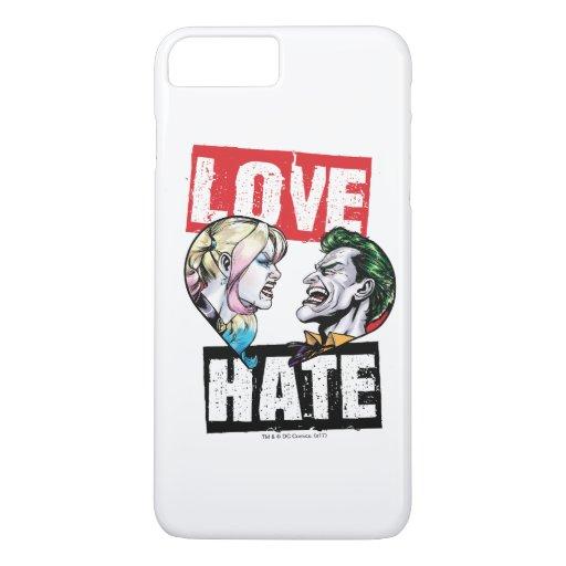 Batman | Harley Quinn & Joker Love/Hate iPhone 8 Plus/7 Plus Case
