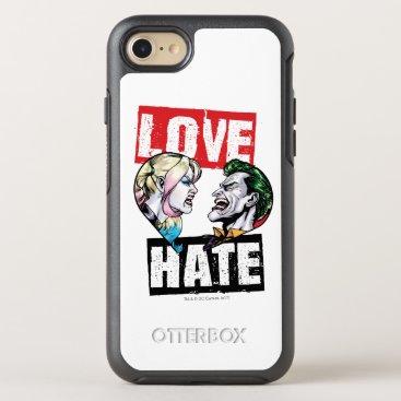 Batman | Harley Quinn & Joker Love/Hate OtterBox Symmetry iPhone 8/7 Case