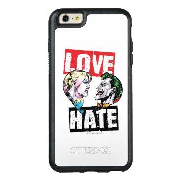 Batman | Harley Quinn & Joker Love/Hate OtterBox iPhone 6/6s Plus Case