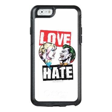 Batman | Harley Quinn & Joker Love/Hate OtterBox iPhone 6/6s Case