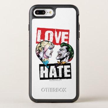 Batman | Harley Quinn & Joker Love/Hate OtterBox Symmetry iPhone 8 Plus/7 Plus Case